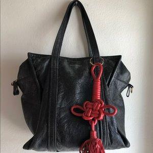 Balenciaga Bazar Small Leather Shopper Tote